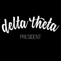 Delta theta president