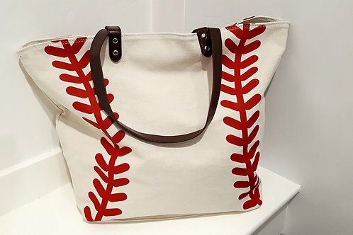 Cotton Canvas Baseball Bag