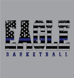 Eagles Basketball Back the Blue