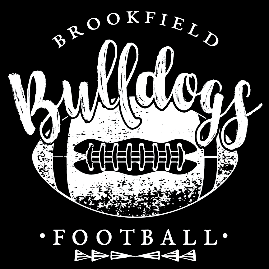 brookfield bulldogs vintage football