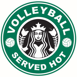 VOLLEYBALL SERVED HOT