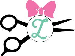 hair dresser monogram