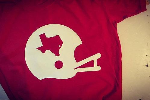 Vintage State Football Helmet Tee