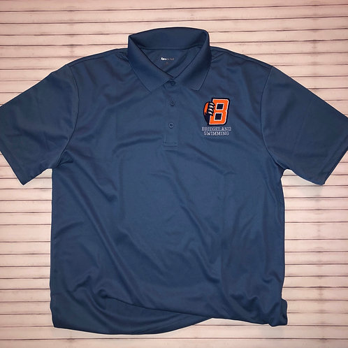 Bridgeland Swimming Embroidered Polo