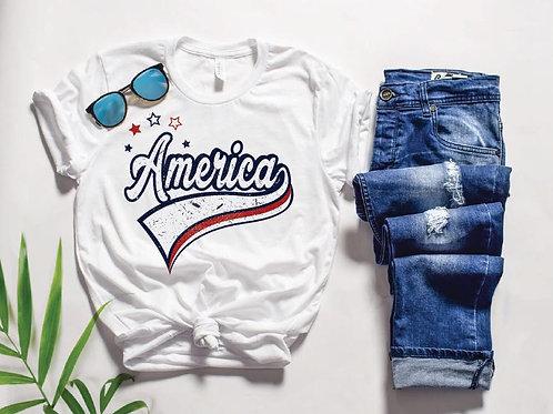 Red, White, & America