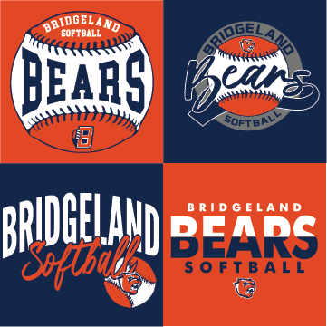 bridgeland softball logos