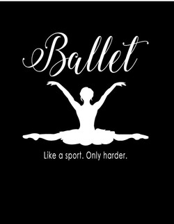 Ballet Like a Sport Only Harder