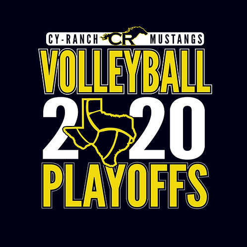 Cy Ranch Volleyball Playoff Tee