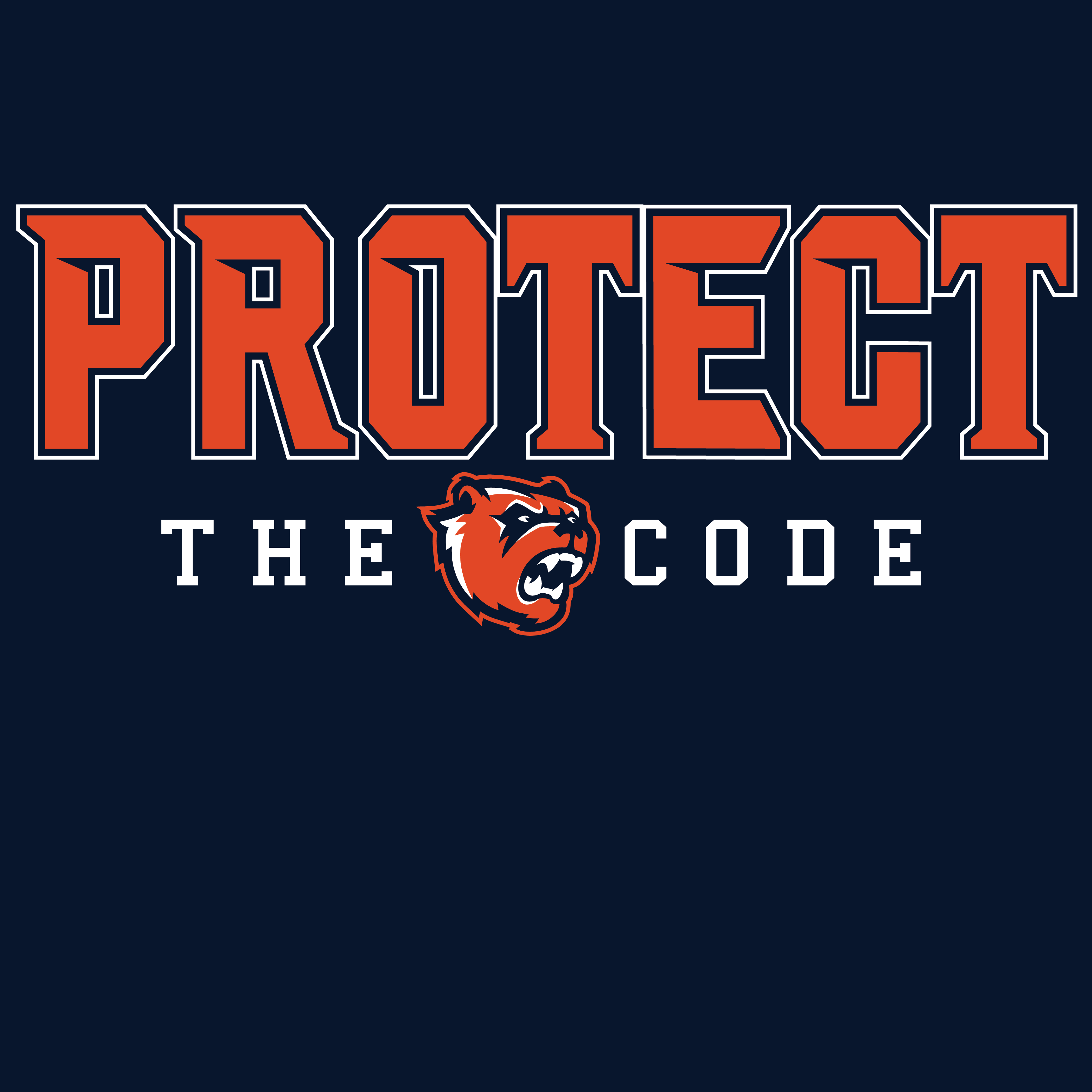 PROTECT THE CODE 2 COLOR