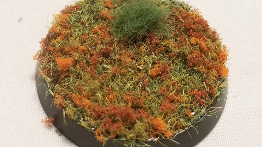Autumn Field Miniature Base