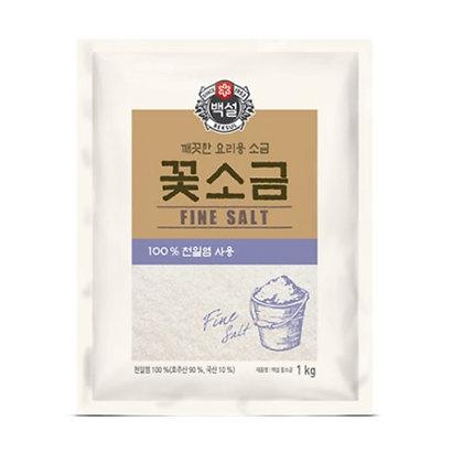 [KJ111] 백설 꽃소금 1kg