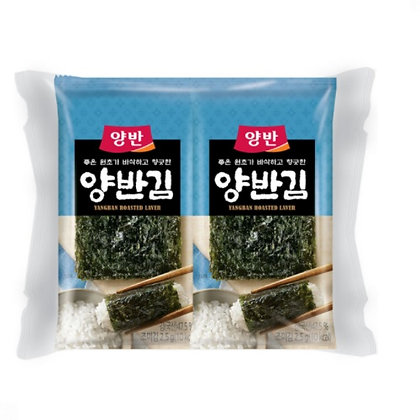 Dongwon Yangban Seaweed for Lunch box (8pks)