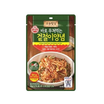 [KJ002] Ottogi Seasoned fresh kimchi 90g