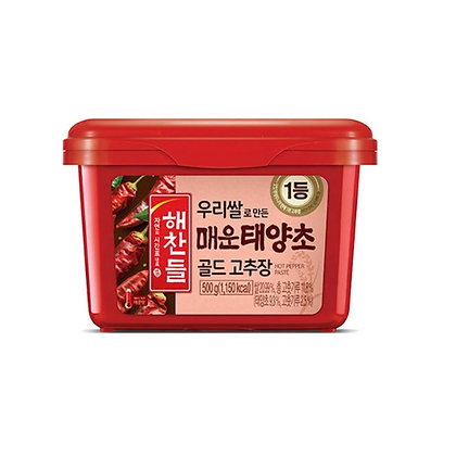 Cj Haechandle Spicy Red Pepper Paste 500g