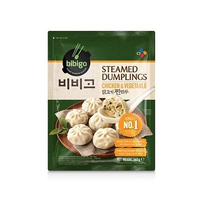 [KF010] Bibigo Chicken Steamed Dumplings 560g