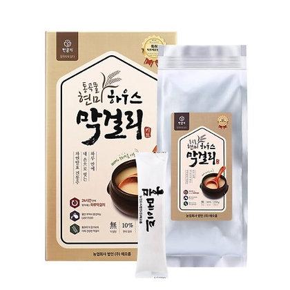 [KD024] 해오름 통곡물 현미 하우스 막걸리 키트 530g (5병제조분)