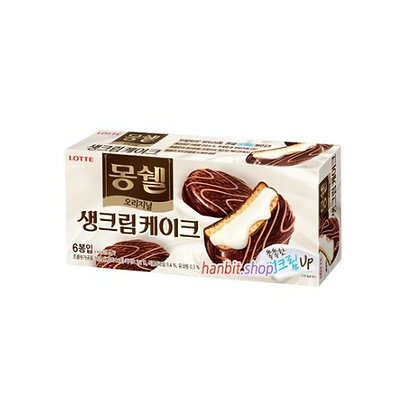 Lotte Mongshell Cream Cake (Original) 192g