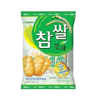 [KQ031] 크라운 참쌀 선과 115g