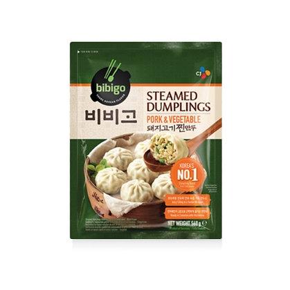 [KF011] Bibigo Pork Steamed Dumplings 560g