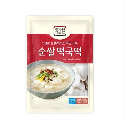 JONGGA Rice Cake(sliced type) 500g / 1kg