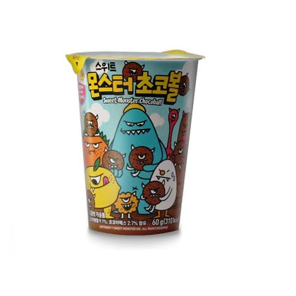 Deltoli Sweet Monster Chocolate Ball (Cup) 60g
