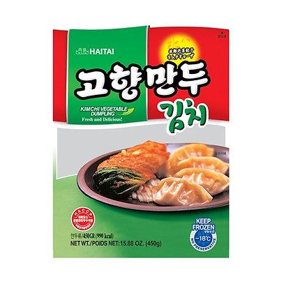 [KF022] 해태 고향만두 김치 450g
