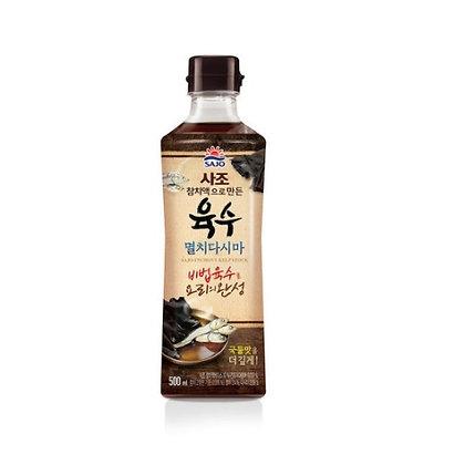 [KJ023] 사조 참치액으로 만든 육수 (멸치다시마) 500ml