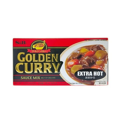 [JA020] S&B Golden Curry Extra Hot 220g