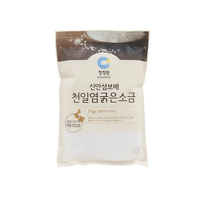 [KJ110] 청정원 신안섬보배 천일염 굵은소금 1kg