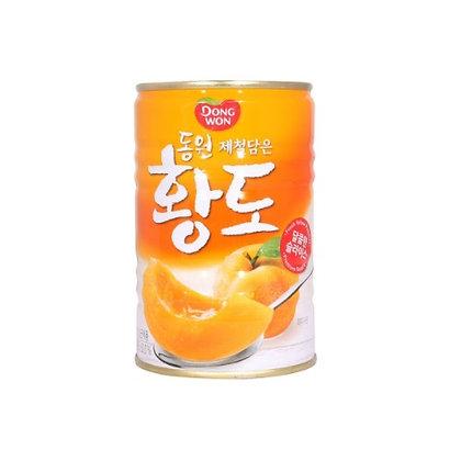 [KC038] Dongwon Yellow Peach (Can) 400g