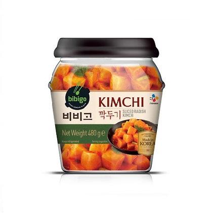 Bibigo Sliced Radish Kimchi (Kkakdugi) 480g (jar)