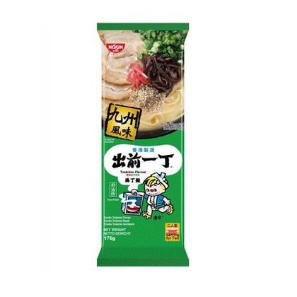 [JA005] Nissin Demae Ramen Bar Noodle Kyushu Tonkotsu 176g