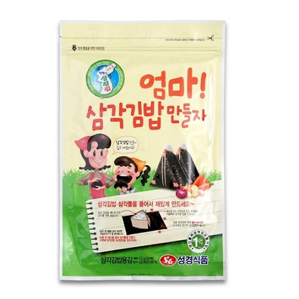 Sunggyung Roasted triangular laver 22g (20Sheets)