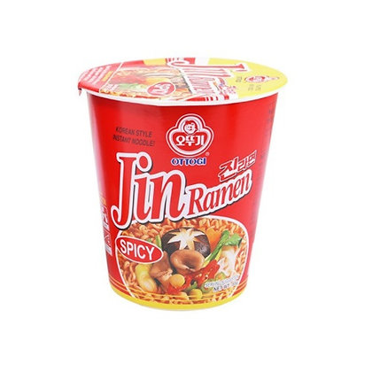Jin Ramyun Spicy Small Cup 65g