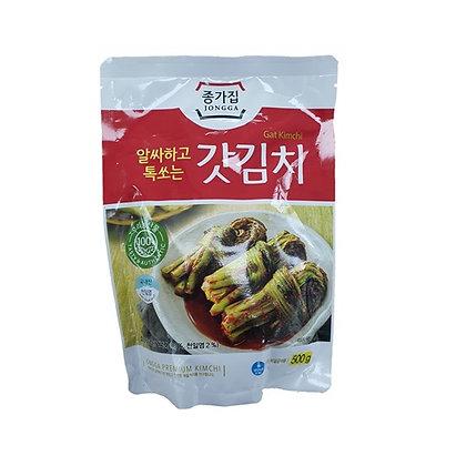 [KK001] JONGGA mustard greens kimchi 500g