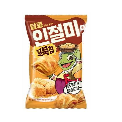 [KQ019] 오리온 꼬북칩 인절미맛 80g