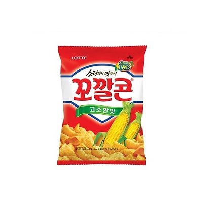 Lotte Kokal Corn Snack (Original Flavour) 72g