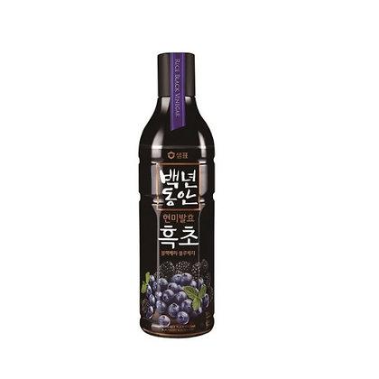 [KD078] 샘표 현미발효 흑초 블랙베리&블루베리 900ml