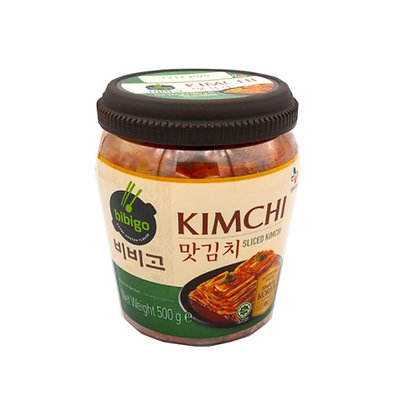 [KK018] 비비고 맛김치 500g (단지)