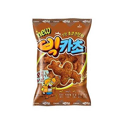 [KQ143] 크라운 빅카라멜콘 초코 58g