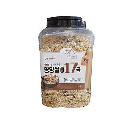 [KV045] DGFarm 영양쌀 17곡 4kg