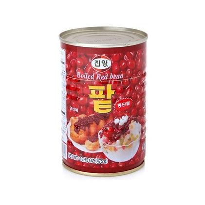 [KC012] 진양 빙수용 통단팥 (캔) 475g