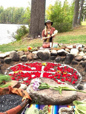 Blue Flame Plantary Grid Ceremony 2019