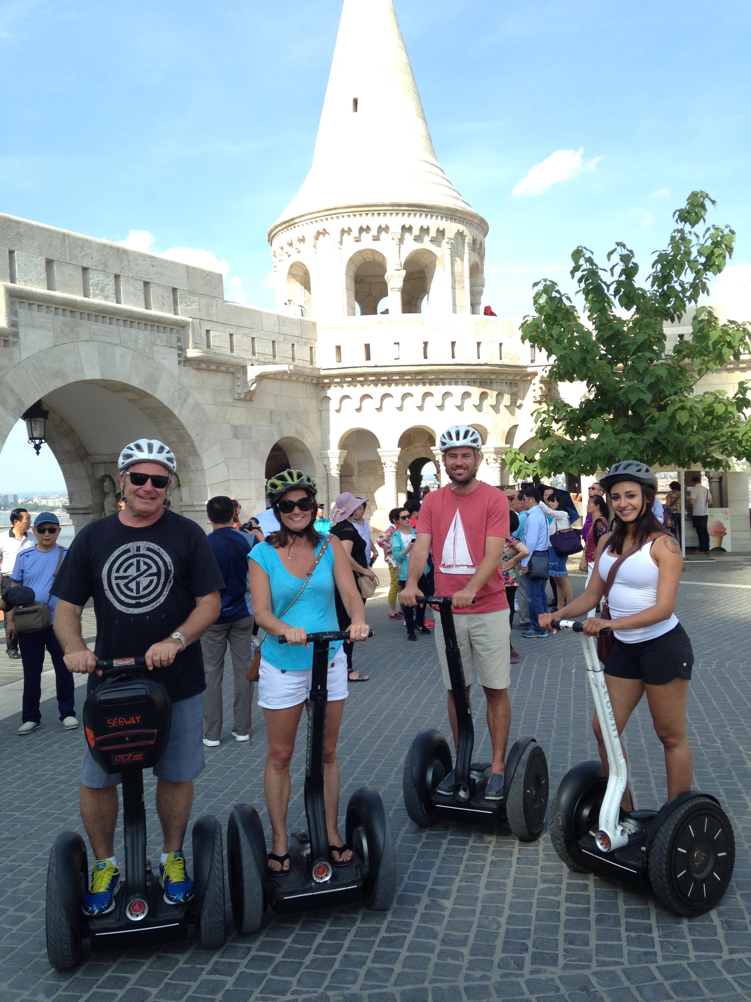 eco segway tour Budapest