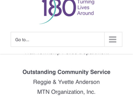 180 Turning Lives Around Awards MTN Outstanding Community Service