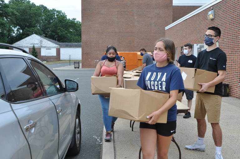 "Springfield Community ""Meets the Need"" at Drive-Thru Food Pantry Event"