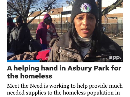 Asbury Park Press – A helping hand in Asbury Park for the homeless