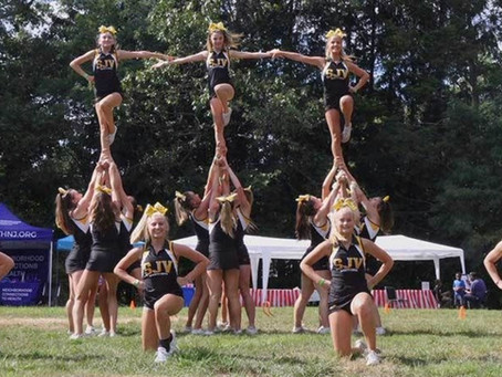 SJV cheer team a class act in service along with MTN