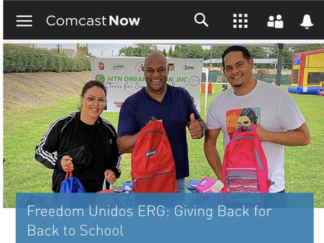 Giving Back! MTN Partners with Freedom Unidos!