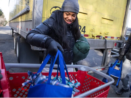 APP Article – Helping the homeless: Caravan from Jackson delivers goods in one-day statewide s